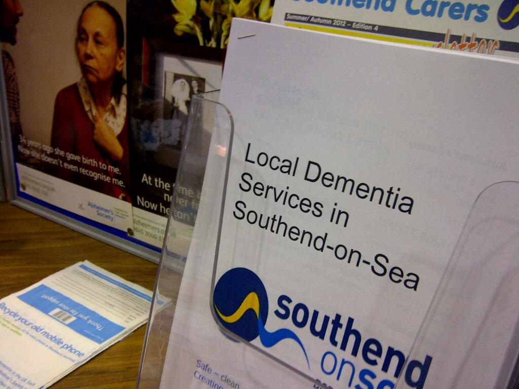Southend-on-Sea's partnership work for people with dementia and their carers