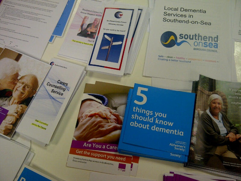 Southend dementia resources