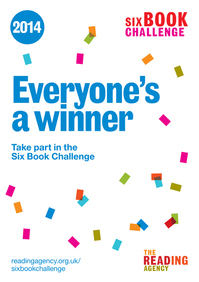 Six Book Challenge 2014 A3 Poster