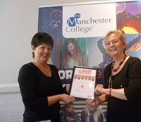 The Manchester College gold award.jpg