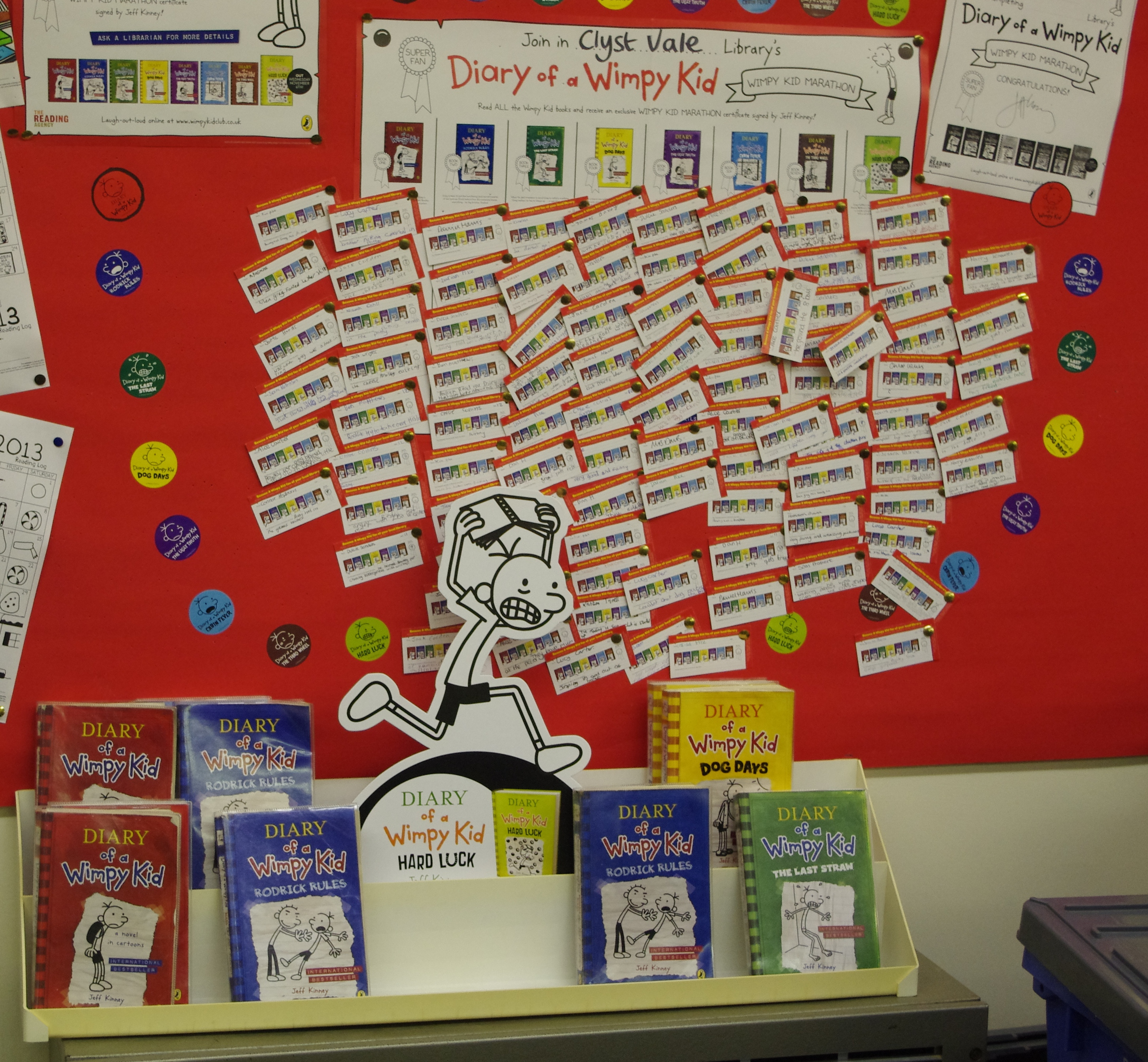 wimpy kid library reading marathon a hit reading agency