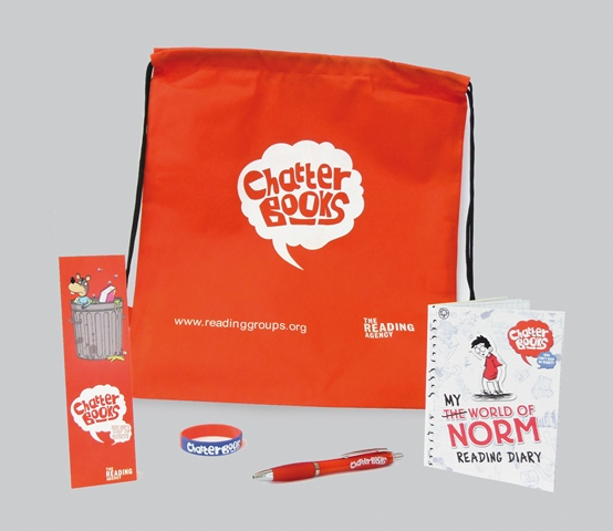 Running childrens reading clubs reading agency welcome pack smallg welcome packs red book bag with reading publicscrutiny Gallery