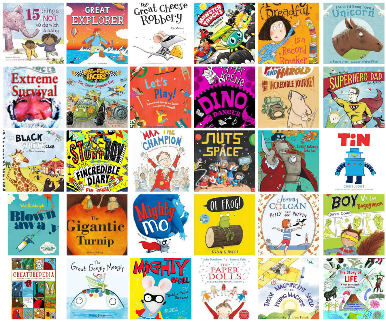 Record Breakers book collections announced | Reading Agency