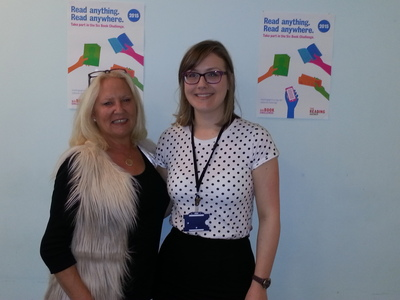 Martina Cole with Tracey McKee at TSSU.jpg